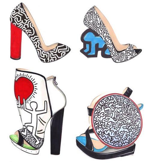 Keith Haring Interior Design
